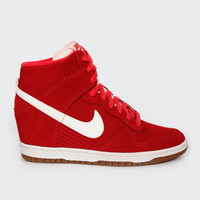 Dunk Sky Hi Print (528899-601), red / sail
