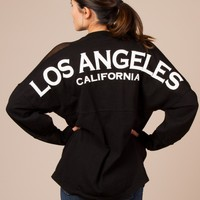 Los Angeles Jersey in Black by Spirit - ShopKitson.com
