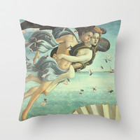 Love Angels Throw Pillow by BeautifulHomes