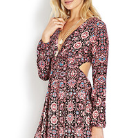 Romantic Voyage Cutout Dress