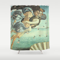 Love Angels Shower Curtain by BeautifulHomes