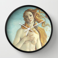 Love Goddess Wall Clock by BeautifulHomes