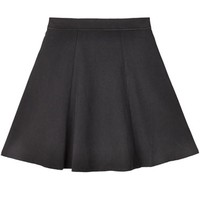 Wren Black Mini Skirt