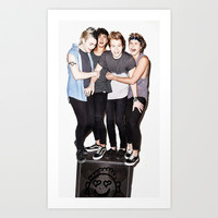 5sos slsp cover Art Print by kikabarros