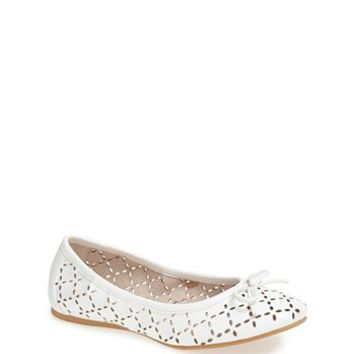 Ruby & Bloom 'Joslin' Cutout Ballet Flat (Toddler, Little Kid & Big Kid)