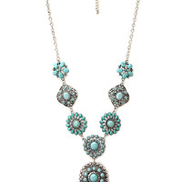 Rustic Medallion Necklace