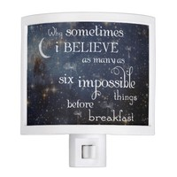 Impossible Things Stars Night Light