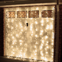 LED Linear Curtain Fairy Lights Multi Function Decorative Lights, 200-LED