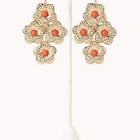 Signature Flower Chandelier Earrings
