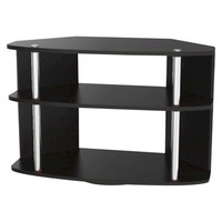 Swivel TV Stand - Black