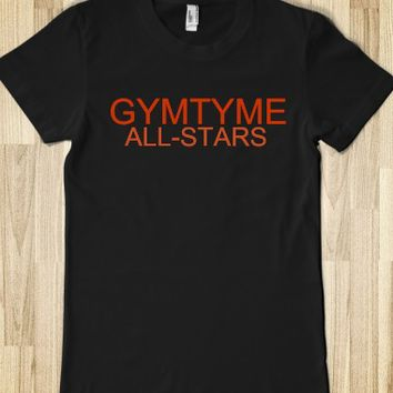 GYMTYME ALL-STARS JUNIORS FITTED TEE