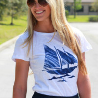 Sails Up Tee