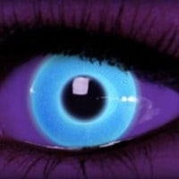 Rave Blue - Cool Contacts - Halloween Contacts by ExtremeSFX