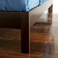 Simple Bed Frame - Chocolate