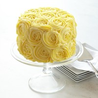 We Take The Cake Yellow Rose Cake