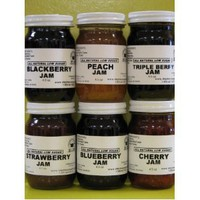 Low Sugar all Natural Jams Gift Box (6-4.5 oz jars in a gift box)