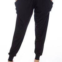 Unlimited Looks Harem Pants - Black