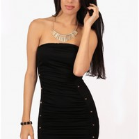 2013 Black Milan Strapless Dress - 29 N Under