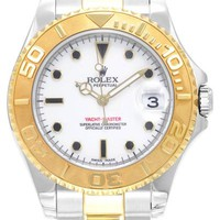 Vintage Rolex Perpetual Yacht-Master 18K Yellow Gold Watch