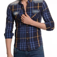 Complo 100% Cotton Faded Shirt Made In Europe
