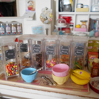 Playscale - Filled CEREAL STORAGE CONTAINER - 1:6 Scale Miniature - Blythe, Momoko, Pullip, Barbie, Fashion Royalty