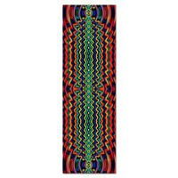Energy Ripples Yoga Mat - Vivid Red Green Yellow> Full Color Designs> Energy Yoga Mats