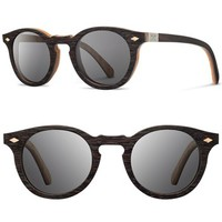 Shwood 'Florence' 49mm Polarized Wood Sunglasses | Nordstrom