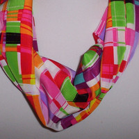 Infinity Scarf Trendy Womens Scarf Multicolor Scarf