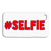 HASHTAG # SELFIE iPhone Case Funny Selfie iPod Case Cute Selfie Phone Cover iPhone 4 iPhone 4s iPhone 5 iPhone 5s Funny iPod 5 Case iPod 4