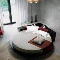 Plato Round Bed VIG Furniture