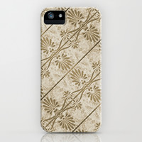 Decorative Swirls Pattern iPhone & iPod Case by Danflcreativo