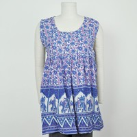 Sleeveless Jaipuri Tunic
