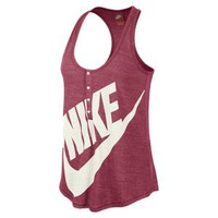 Nike Gym Vintage Women's Tank Top - Geranium