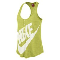 Nike Gym Vintage Women's Tank Top - Venom Green