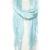 Papaya Clothing Online :: Fringed Woven Color Scarf