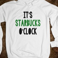 IT'S STARBUCKS O'CLOCK - underlinedesigns
