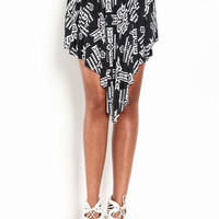 TRIBAL RUFFLE SKIRT