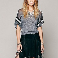 Foam Of Daze Fringe Skirt
