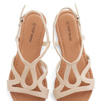 Cafe Circuit Sandal in Chai | Mod Retro Vintage Sandals | ModCloth.com