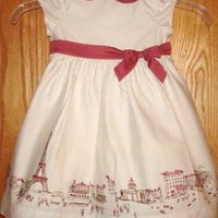 Janie  Jack EASTER Paris Street Scene Dress 6T on eBay!