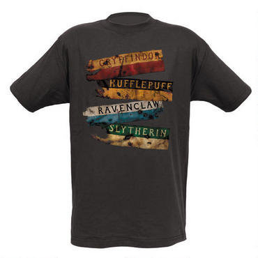 Harry Potter EXCLUSIVE Burnt Banners Adult T-Shirt | WBshop.com | Warner Bros.