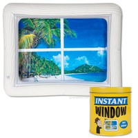 Instant Inflatable Window - Perfect for Cubicles!