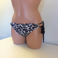 50% off gray cheetah bottoms