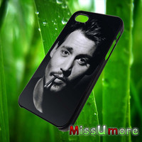 Johnny Depp/MISSUMORE,Accessories,CellPhone,Cover Phone,Soft Rubber,Hard Plastic,Soft Case,Hard Case,Samsung Galaxy ,iPhone/21aug9