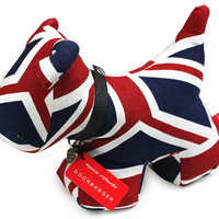 Puppy Bumperstop Doorstop - Union Jack - Buy from Prezzybox.com