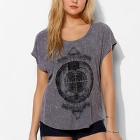 Project Social T Mineralized Zodiac Tee - Urban Outfitters