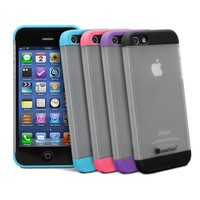 GreatShield GUARDIAN Series Double Slide Case for Apple iPhone 5 / 5S (Black)