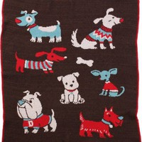 Adorable Puppies Throw Blanket