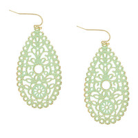 Lightweight Filigree Earrings