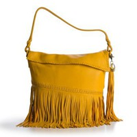 Carlos Falchi Fringe Hobo  Handbags Luxury - DSW